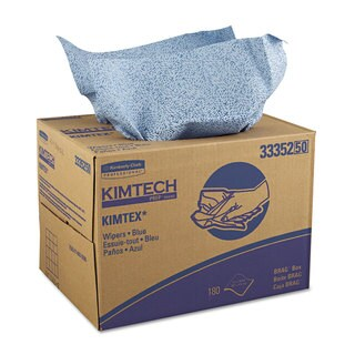 Kimtech KIMTEX Wipers 12 1/10 x 16 4/5 Blue 180/BRAG Box