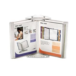Tarifold Inc. Crystal Desk Reference System 10 Pockets