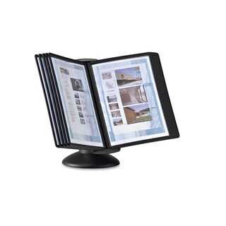 Durable SHERPA Motion Desk System 10 Panels Black