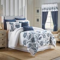 Croscill Clayra Cotton Floral Embroidery Bedding Collection