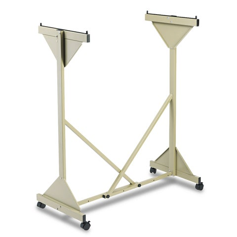 Safco Mobile Plan Center Sheet Rack 18 Hanging Clamps 43 3/4 x 20 1/2 x 51 Sand