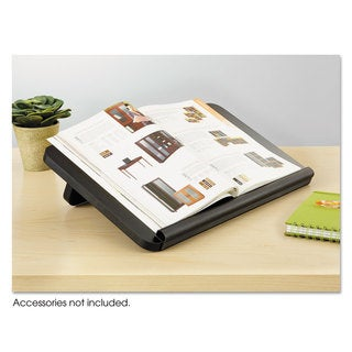 Safco Ergo-Comfort Read/Write Freestanding Desktop Copy Stand Wood Black