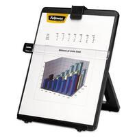 Fellowes Non-Magnetic Letter-Size Desktop Copyholder Plastic 125 Sheet Capacity Black