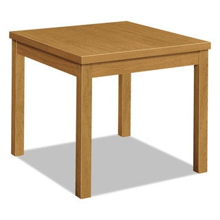 HON Laminate Occasional Table Rectangular 24-inch wide x 20-inch deep x 20-inch high Harvest