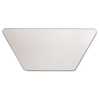 Alera Valencia Series Training Desk Top Trapezoid 47-1/4-inch wide x 23-5/8d Speckled Grey