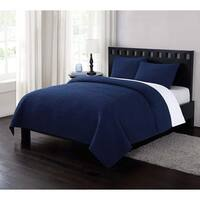 London Fog Garment Washed Crinkle Quilt Set