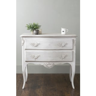 East At Main's Fallon Grey Rectangle Teakwood Chest of Drawers