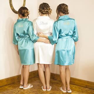 Bride White Satin Robe and Flip-flops (2-piece Set)|https://ak1.ostkcdn.com/images/products/13927786/P20560507.jpg?impolicy=medium