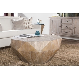 Casablanca Natural Reclaimed Wood Coffee Table by Kosas Home