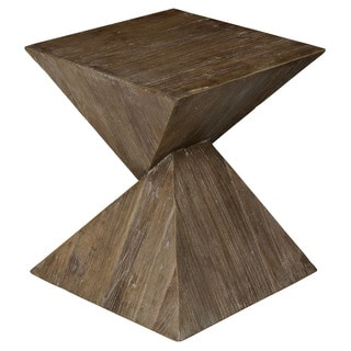 Maggie Reclaimed Wood Side Table by Kosas Home