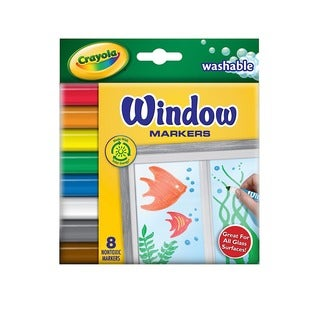 Crayola Washable Window Markers (4 Packs of 8)