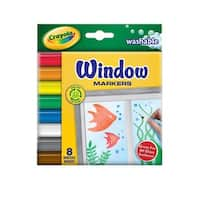 Crayola Washable Window Markers (4 Packs of 8)