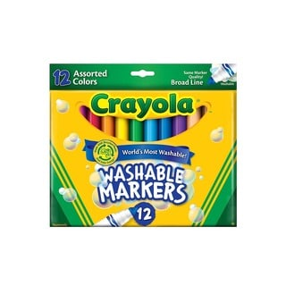 Crayola Washable Markers (3 Packs of 12)