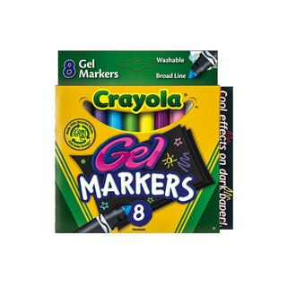 Crayola Washable Gel Markers (4 Packs of 8)