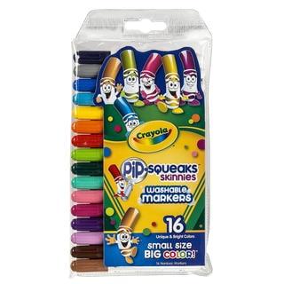 Crayola Pip-Squeaks Skinnies (4 Packs of 16)