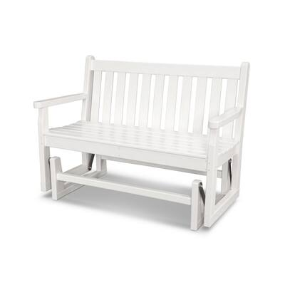 White Polywood Outdoor Benches Online At Our