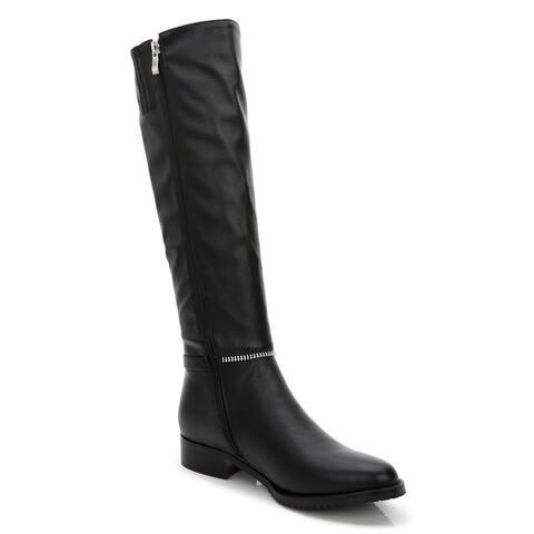 Rosewand Women's 'Galena' Zipper Trim Strap Boots