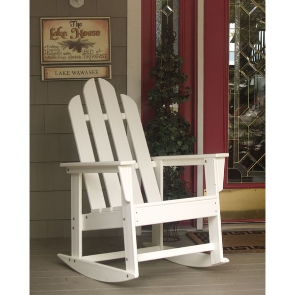 Polywood Long Island Outdoor Rocking Chair