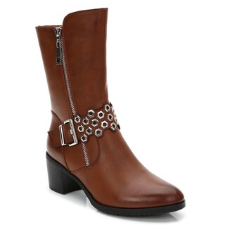 Rosewand Women's 'Cerros' Perforated Strap Booties