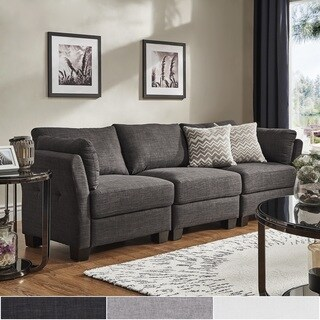 Elize Modern Linen Fabric Sofa by iNSPIRE Q Bold