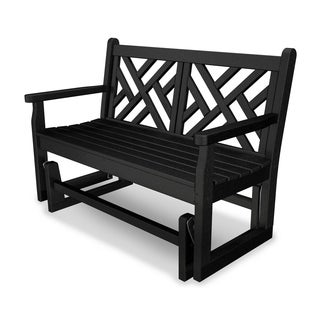 Chippendale Polywood Glider Bench (More options available)
