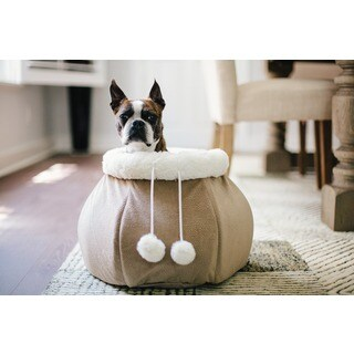 Best Friends by Sheri 4-in-1 Kitty Pouch Cuddler Bed