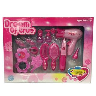 Dream of True Beauty Pink Hair Set