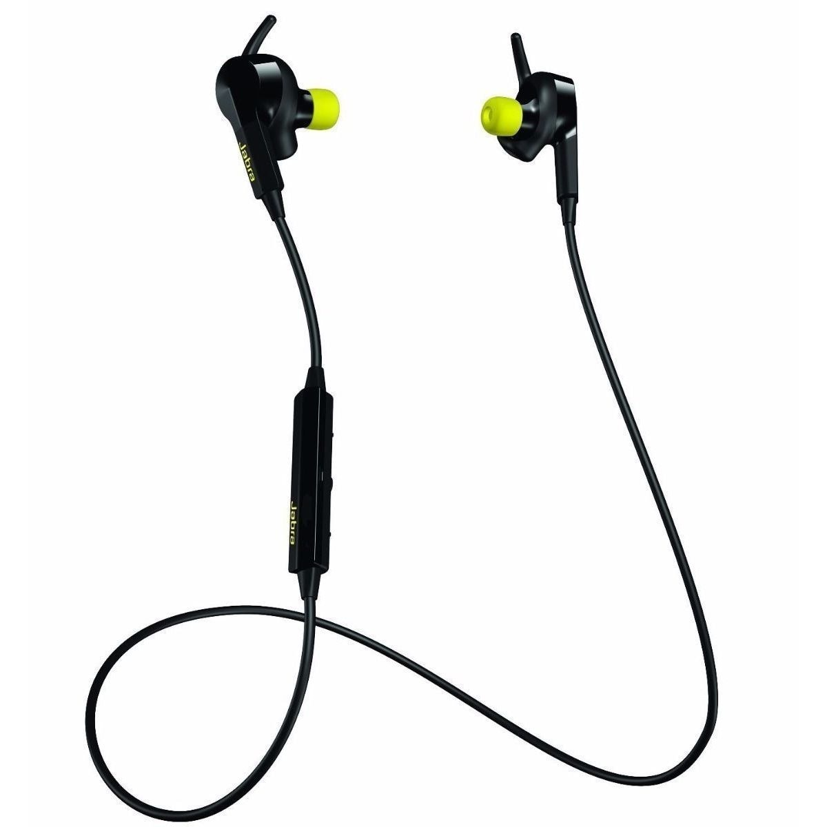 Shop Jabra Sport Black And Yellow Pulse Wireless Bluetooth Earbuds Headset Heart Rate Monitor Overstock 13929370