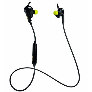 Jabra Sport Black and Yellow Pulse Wireless Bluetooth Earbuds Headset Heart Rate Monitor