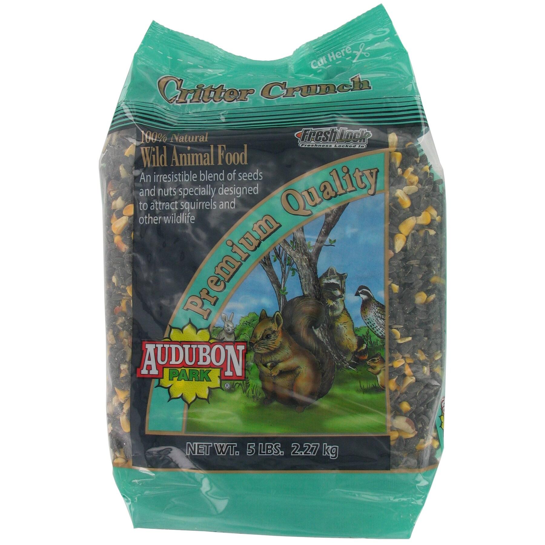 Audubon Park 5 Lbs Critter Crunch Birdseed (5 LB)