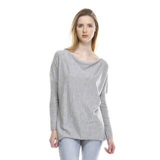 Suri Women's Pullover Cowl Neck Sweater