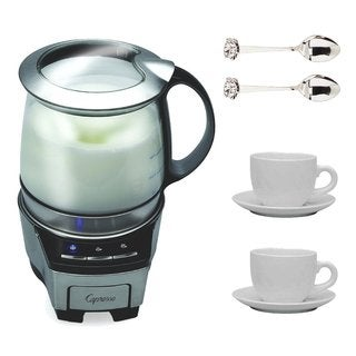 Capresso 206.05 FrothTEC Automatic Milk Frother Bundle