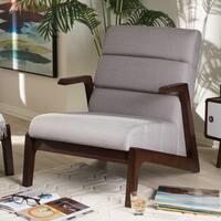 Shop Madison Park Elsa Brown Mid Century Accent Chair