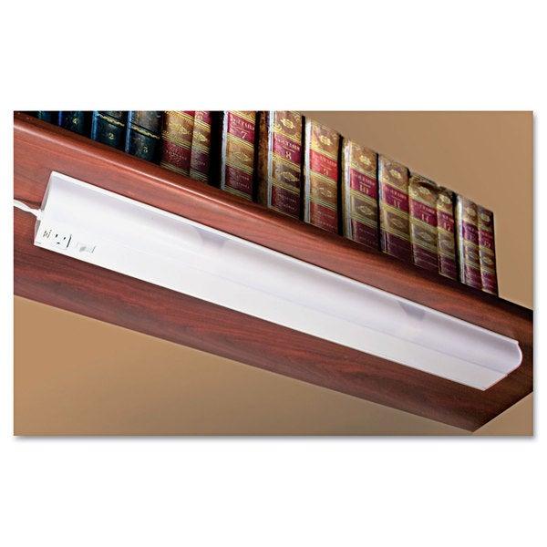Ledu Under Cabinet Fluorescent Lamp Steel White