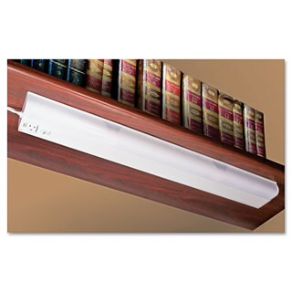 Ledu Under Cabinet Fluorescent Lamp Steel White