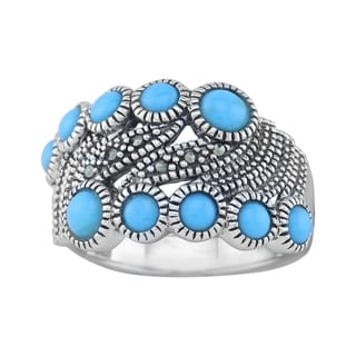 Pangea Mines Sterling Silver Turquoise Ring