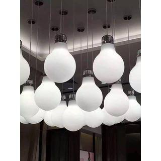 Contempo Lights LightUp White Aluminum Color-changing Pendant Lamp