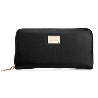 Gearonic Faishion Full Zipper Women Wallet (Option: Black)