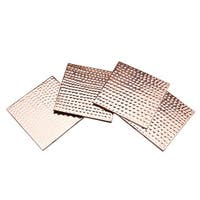 Godinger Square Copper 4-piece Coaster Set
