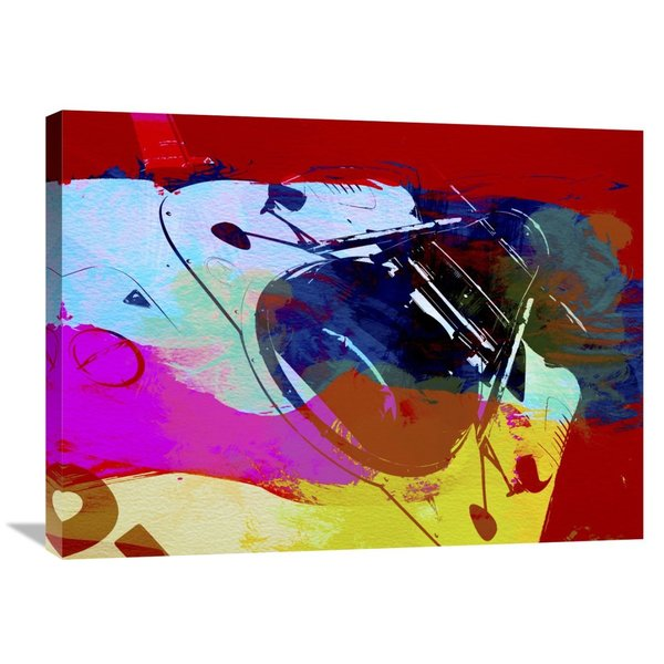 NAXART Studio 'Porsche Watercolor' Stretched Canvas Wall Art