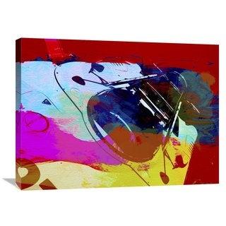NAXART Studio 'Porsche Watercolor' Stretched Canvas Wall Art