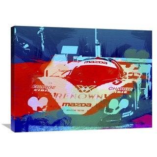 NAXART Studio 'Mazda Le Mans' Stretched Canvas Wall Art