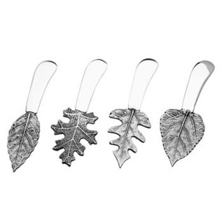 Godinger 4-piece Leaf-handle Spreader Set