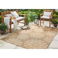 Mohawk Home Oasis Sanibel Indoor/Outdoor Area Rug (5'3 x 7'6) - 5'3  x  7'6