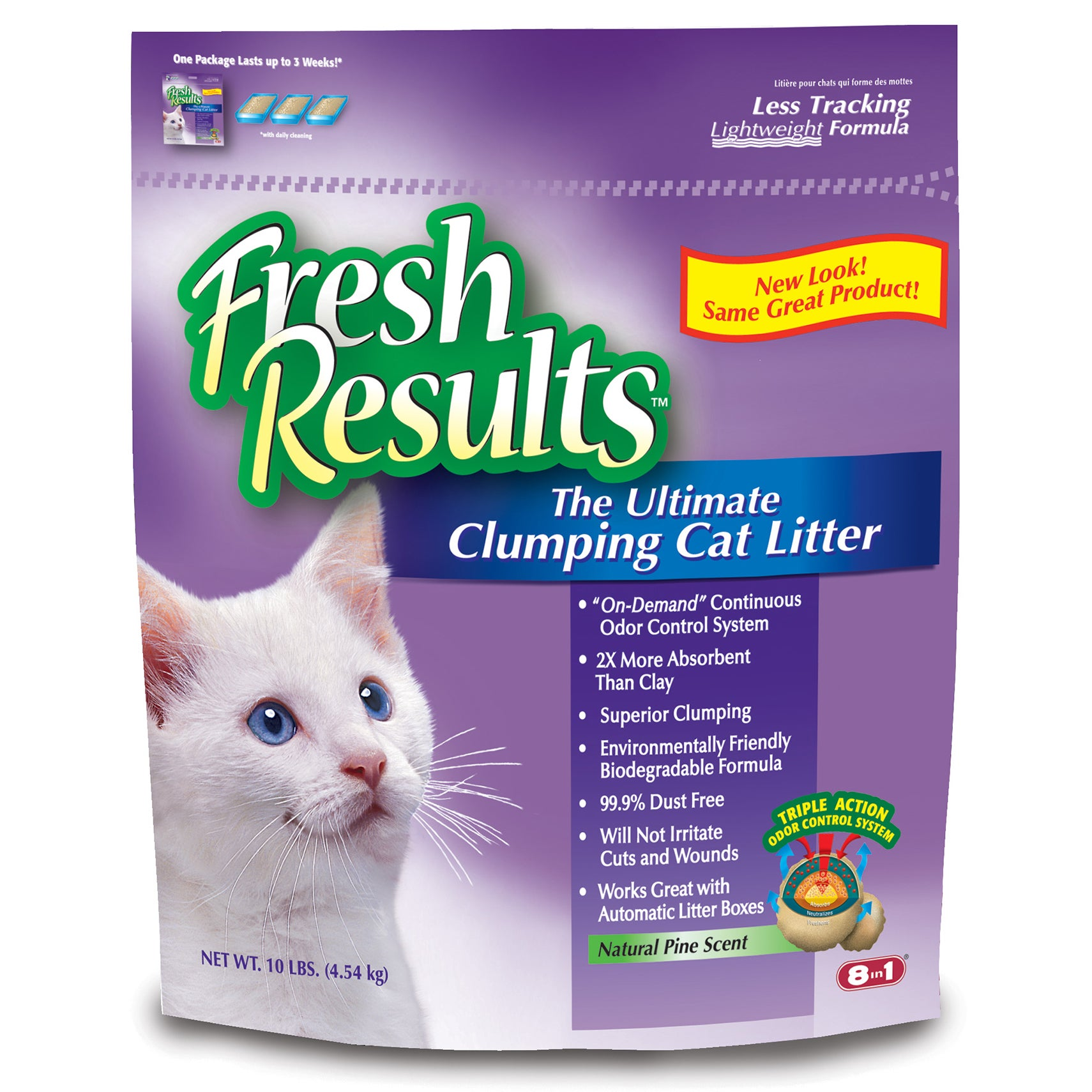 Fresh Results M1365 10 Lb Clumping Cat Litter (Cat Litter...