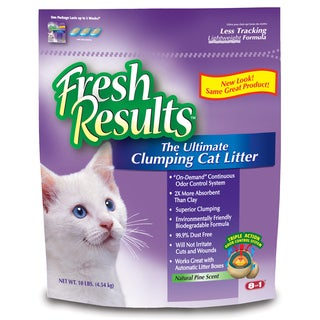 Fresh Results M1365 10 Lb Clumping Cat Litter