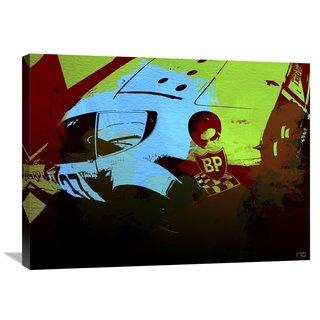 NAXART Studio 'Ferrari Watercolor 2' Stretched Canvas Wall Art