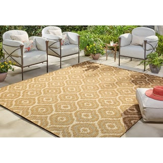 Mohawk Home Oasis Morro Indoor/Outdoor Area Rug (8' x 10') (Option: Natural)
