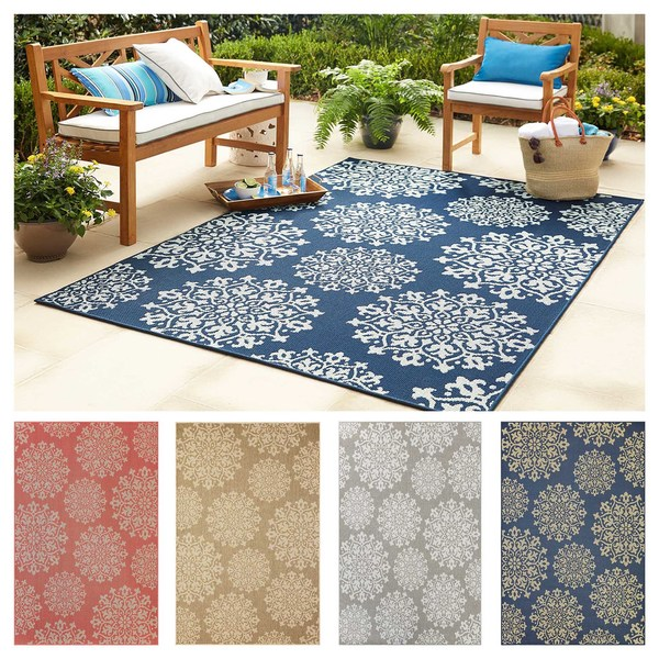 Mohawk Home Oasis Sanibel Indoor/Outdoor Area Rug (8' x 10') - 8' x 10'