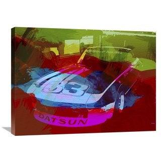 NAXART Studio 'Datsun' Stretched Canvas Wall Art